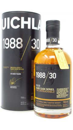 Bruichladdich - Rare Cask Series - 'The Untouchable' - 1988 30 year old Whisky