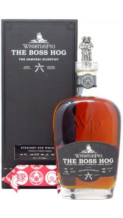 WhistlePig - The Boss Hog VI - The Samurai Scientist Whiskey