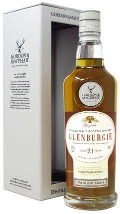 Glenburgie - Distillery Labels 21 year old Whisky