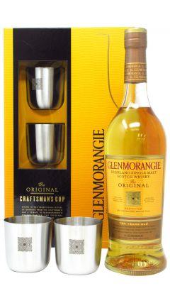 Glenmorangie - Original Single Malt With 2 x Metal Cups Gift Pack Whisky