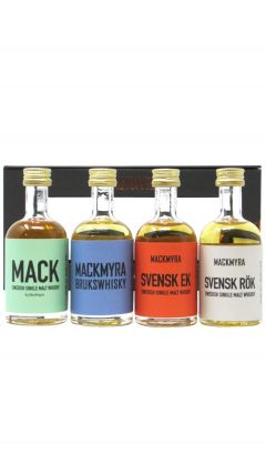 Mackmyra - Classics 4 x 5cl Miniature Swedish Single Malt Gift Pack Whisky