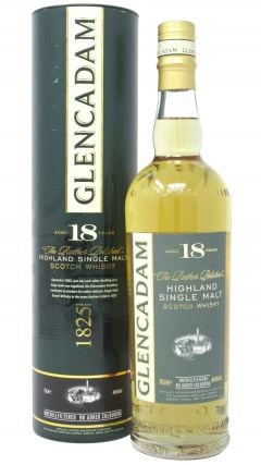 Glencadam - Highland Single Malt 18 year old Whisky