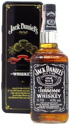 Jack Daniels - Old No. 7 In Metal Box Whiskey