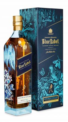 Johnnie Walker - Blue Label - Rare Side of Scotland 'Timorous Beasties' Edition Whisky
