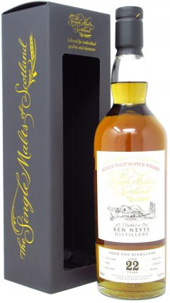 Ben Nevis - The Single Malts Of Scotland Single Cask #2019 - 1996 22 year old Whisky