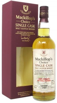 Glen Grant - MacKillop's Choice Single Cask #11086 - 1989 26 year old Whisky