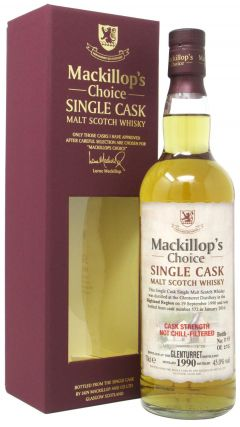 Glenturret - MacKillop's Choice Single Cask #572 - 1990 25 year old Whisky