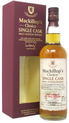 Glen Garioch - Mackillop's Choice Single Cask #8554 - 1990 25 year old Whisky