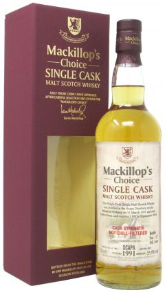 Scapa - Mackillop's Choice Single Cask #1191 - 1991 23 year old Whisky
