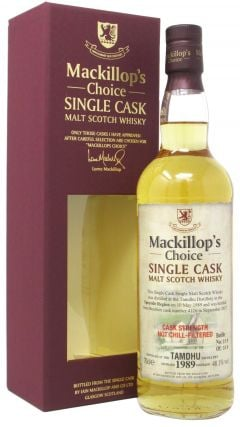 Tamdhu - Mackillop's Choice Single Cask #4126 - 1989 28 year old Whisky