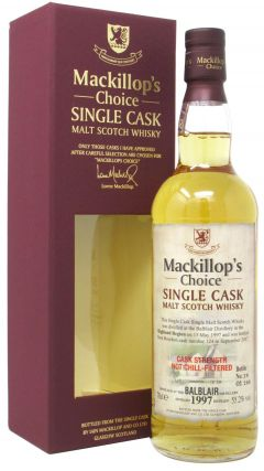 Balblair - Mackillop's Choice Single Cask #124 - 1997 20 year old Whisky