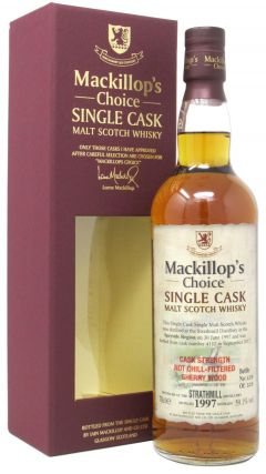 Strathmill - Mackillop's Choice Single Cask #4112 - 1997 20 year old Whisky