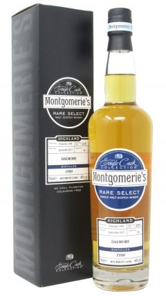 Dalmore - Montgomerie's Rare Select Single Cask #89 - 1990 27 year old Whisky