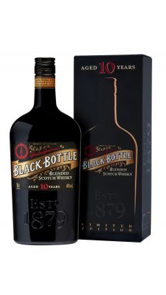 Blended Malt - Black Bottle Limited Edition Blended Scotch 10 year old Whisky