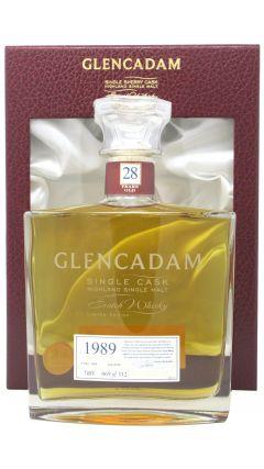 Glencadam - Single Cask #7455 - 1989 28 year old Whisky