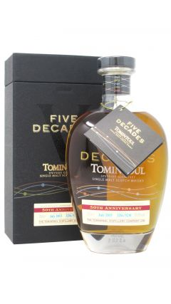 Tomintoul - Five Decades 50th Anniversary Whisky