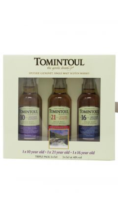 Tomintoul - 3 x 5cl Miniatures Gift Pack Whisky