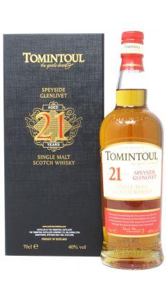 Tomintoul - Single Malt Scotch 21 year old Whisky