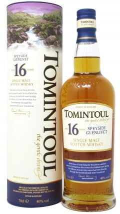 Tomintoul - Single Malt Scotch 16 year old Whisky