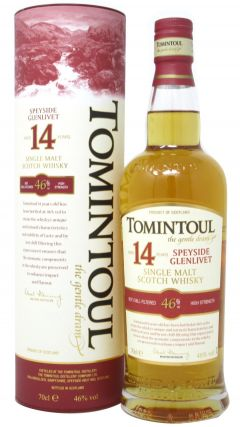 Tomintoul - Single Malt Scotch 14 year old Whisky