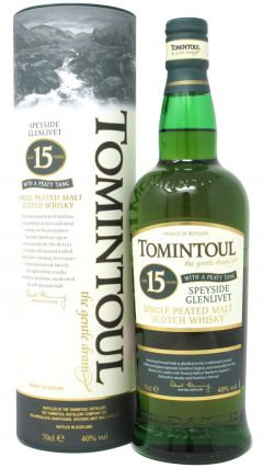 Tomintoul - Peaty Tang Single Malt 15 year old Whisky
