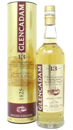 Glencadam - The Re-awakening Single Malt 13 year old Whisky