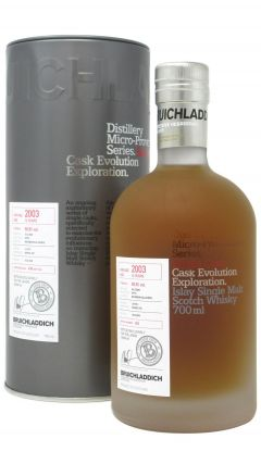 Bruichladdich - Micro Provenance Single - Calvados Finish - Cask #10/179-1 - 2003 14 year old Whisky