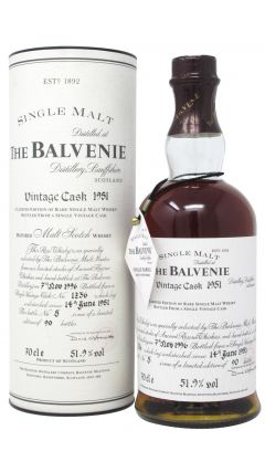 Balvenie - Vintage Cask #1236 - 1951 45 year old Whisky