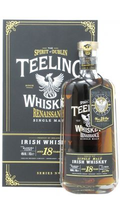 Teeling Whiskey Co. - Renaissance Irish Single Malt 18 year old Whiskey