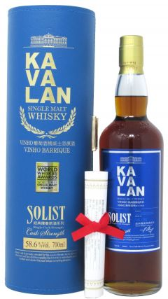 Kavalan - Solist Vinho Barrique Single Cask Whisky