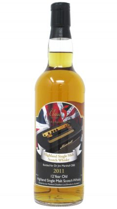 Secret Highlands - Jim Marshall OBE Single Malt 12 year old Whisky