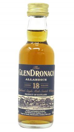 GlenDronach - Allardice Miniature 18 year old Whisky