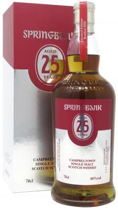 Springbank - Campbeltown Single Malt 2020 Edition 25 year old Whisky