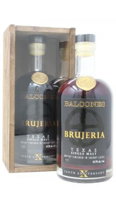 Balcones - Brujeria 10th Anniversary Sherry Finished Single Malt Whiskey
