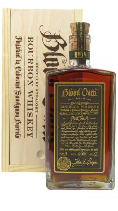 Blood Oath - Bourbon - Pact #3  Whiskey