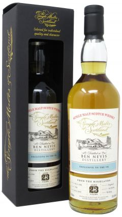 Ben Nevis - The Single Malts of Scotland Single Cask #1784 - 1996 23 year old Whisky