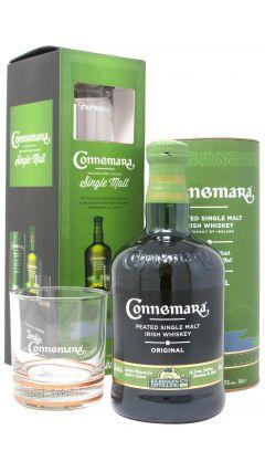 Connemara - Original Peated Irish Single Malt + Branded Tumbler Gift Set Whiskey