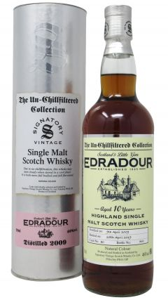 Edradour - The Un-Chillfiltered Collection Single Cask #80 - 2009 10 year old Whisky