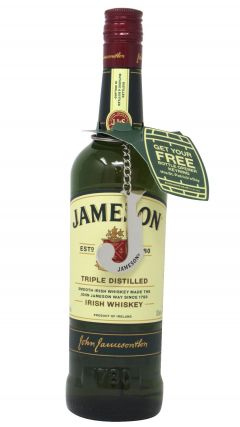 Jameson - Limited Edition With FREE Branded Metal J Keyring Bottle Opener Whiskey