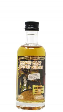Loch Lomond - That Boutique-y Whisky Company Inchmurrin Batch #3 Miniature 20 year old Whisky