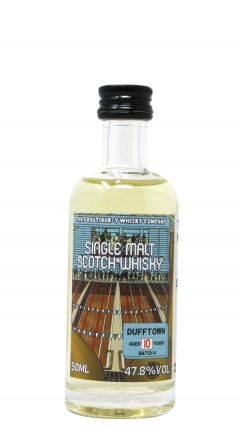 Dufftown - That Boutique-y Whisky Company Batch #4 Miniature 10 year old Whisky