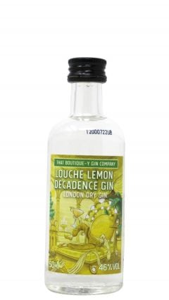 That Boutique-y Gin Company - Louche Lemon Decadence Miniature Gin