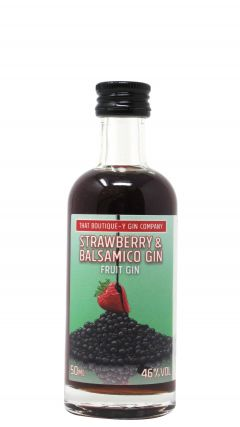That Boutique-y Gin Company - Strawberry & Balsamico Miniature Gin