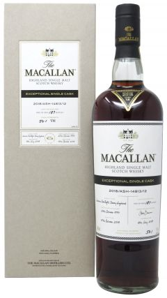 Macallan - Exceptional Single Cask #14813 - No.12 - 1997 20 year old Whisky