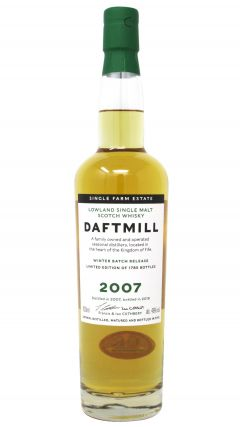 Daftmill - Winter Batch Release 2019 - 2007 12 year old Whisky