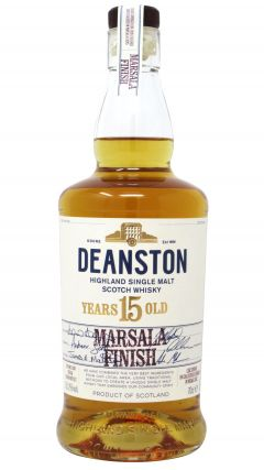 Deanston - Marsala Finish - Distillery Exclusive - 2002 15 year old Whisky