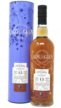 Glen Elgin - Lady Of The Glen Single Cask #801297 - 2004 15 year old Whisky
