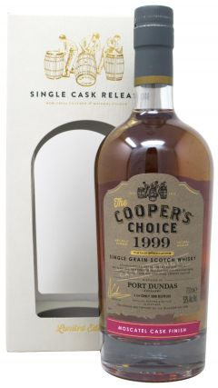 Port Dundas (silent) - Coopers Choice Single Cask #5249 - 1999 20 year old Whisky