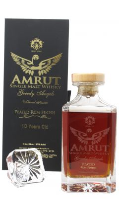 Amrut - Greedy Angels 4th Release - Peated Rum Cask Finish 10 year old Whisky