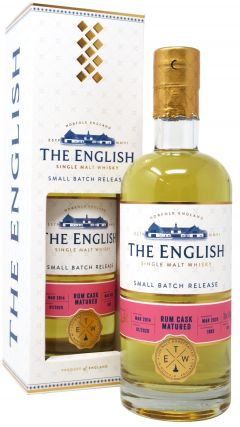 The English Whisky Co. - Small Batch - Rum Cask Finish Whisky